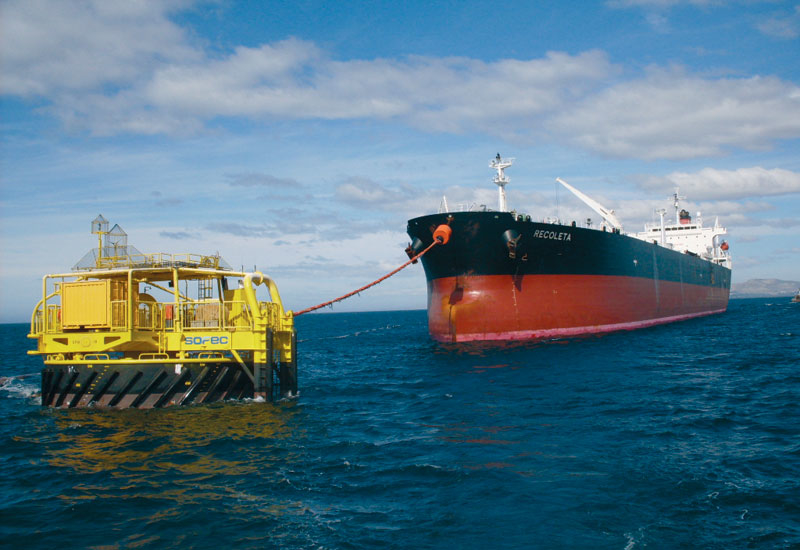 Single Point Moorings are designed so tankers can weathervane during loading.