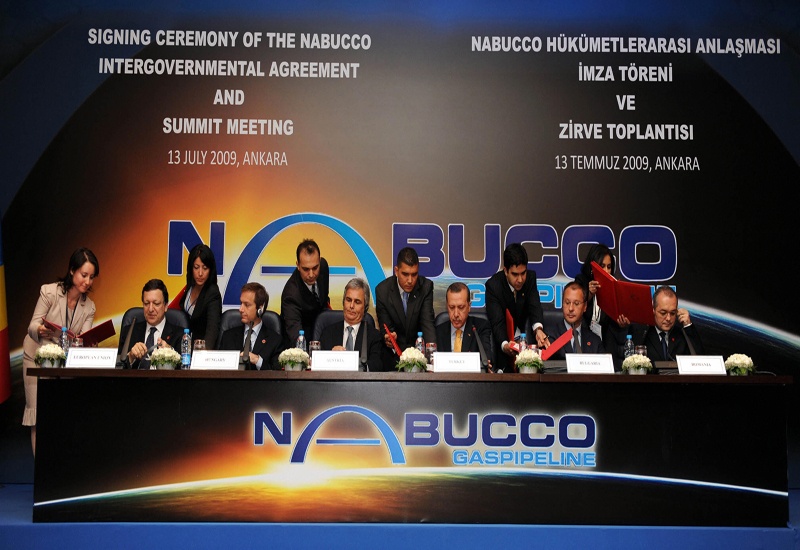 The $11.5 billion Nabucco project would extend about 2,000 miles through Turkish territory to Austria by crossing Romania, Bulgaria and Hungary. GETTY