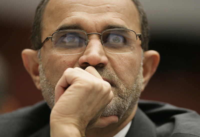 Iranian oil minister, Gholamhossein Nozari. (Getty Images)