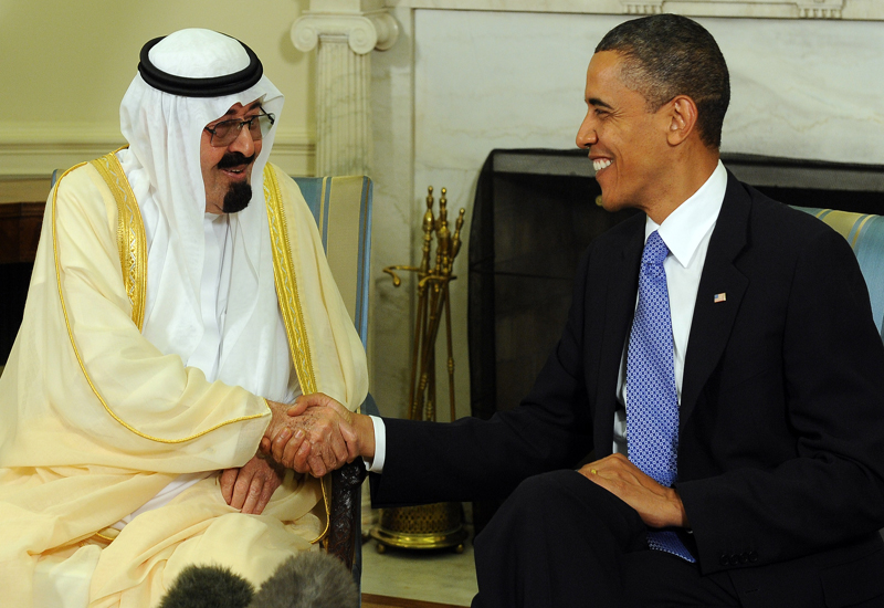 Talks demonstrate urgency of US need to reduce oil price. GETTY IMAGES