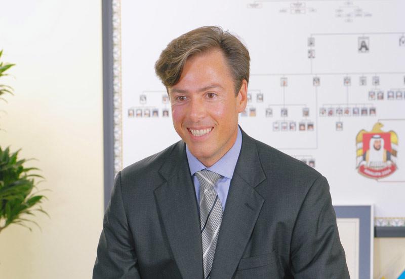 Peter Barker-Homek, CEO of the Abu Dhabi National Energy Company.