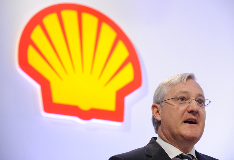 Peter Voser, Shell CEO. GETTY IMAGES