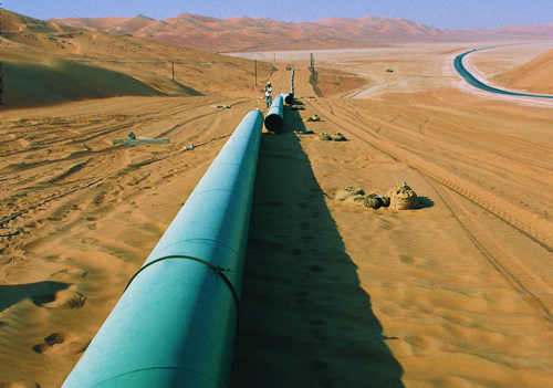 The pipeline will connect Algeria with Spain