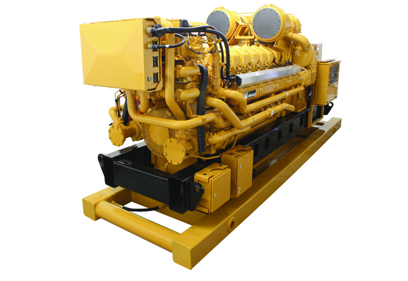 Caterpillar's new C175 engine.