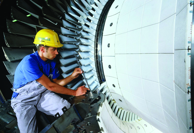 Maintenance on gas turbines is a critical consideration for remote locations.