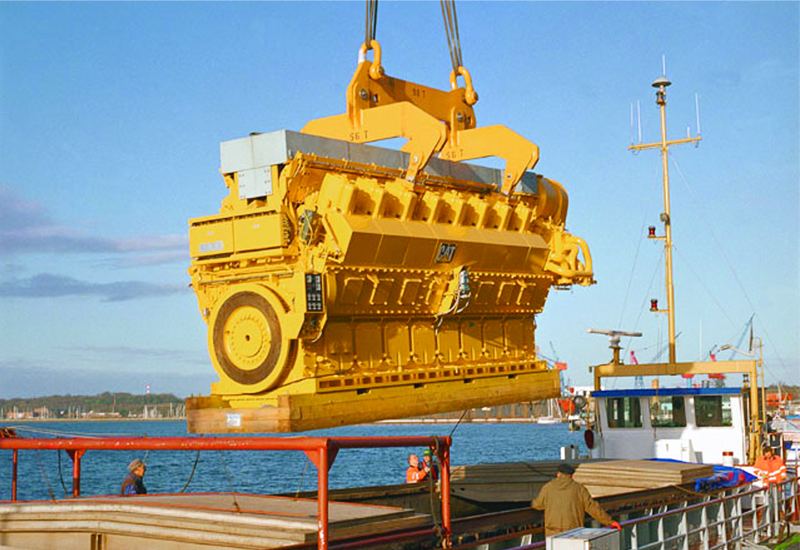 Power to weight ratio is vital, as all engines must be transported and loaded onto sites with fixed parameters.