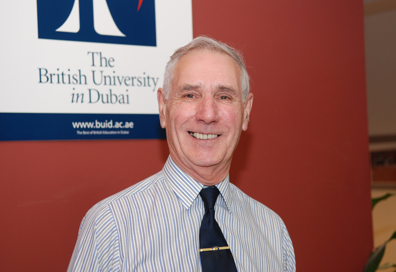 Professor Robert Whalley, BUiD