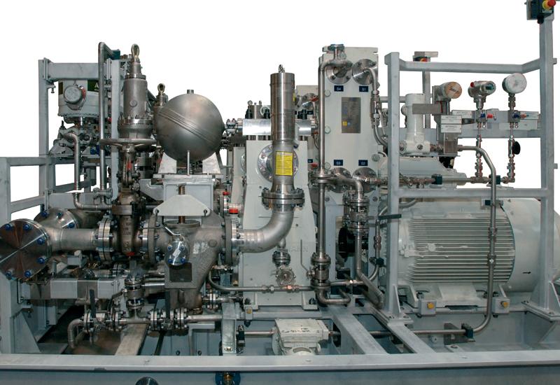 Calder High Pressure (10,000 psi) Methanol injection Pump Skids.