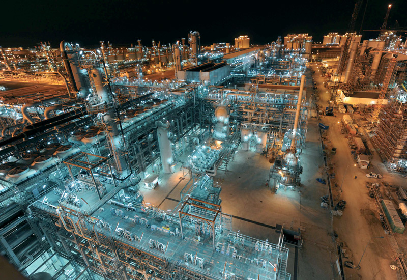 The QatarGas project in Qatar.