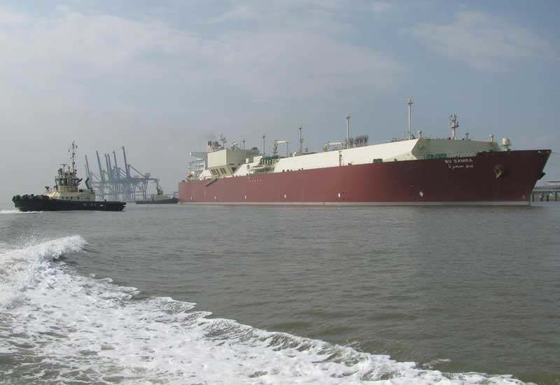 The Q-Max LNG vessel, Bu Samra at the Isle of Grain Terminal in the UK. Qatar supplied the UK with 15% of its total gas demand in 2010.
