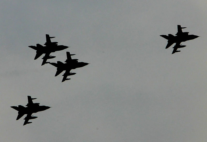 Saudi Arabian Tornados (Getty Images)