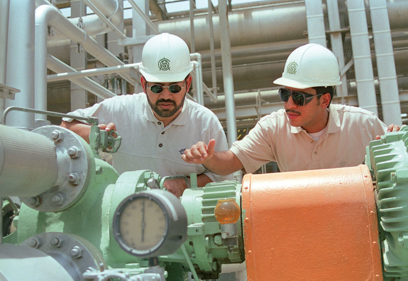 Saudi Aramco's technical workforce is gradually attracting more women as policies take effect.