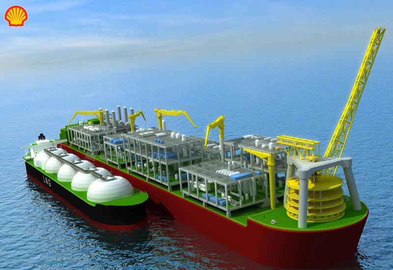 Floating liquefied natural gas, Gas projects middle east, Offshore gas fields, Offshore gas liquefaction, Samsung, Shell, Technip, NEWS, Offshore, Services & Support