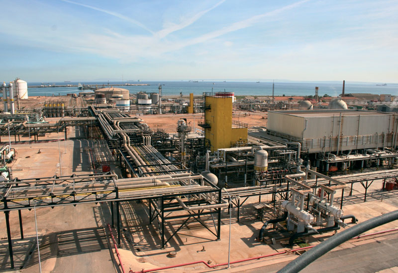 Sonatrach's gas processing facility located in Arzew on the western coast of Algeria, 450km from the capital Algiers.