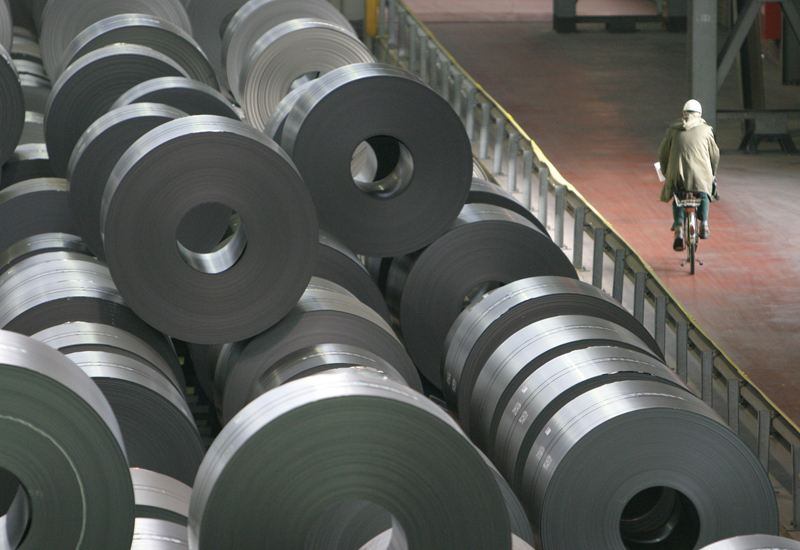 The fall in steel price is down to the balancing of the market in line with the world economy, according to Kishnan, while fluctuations in price has m