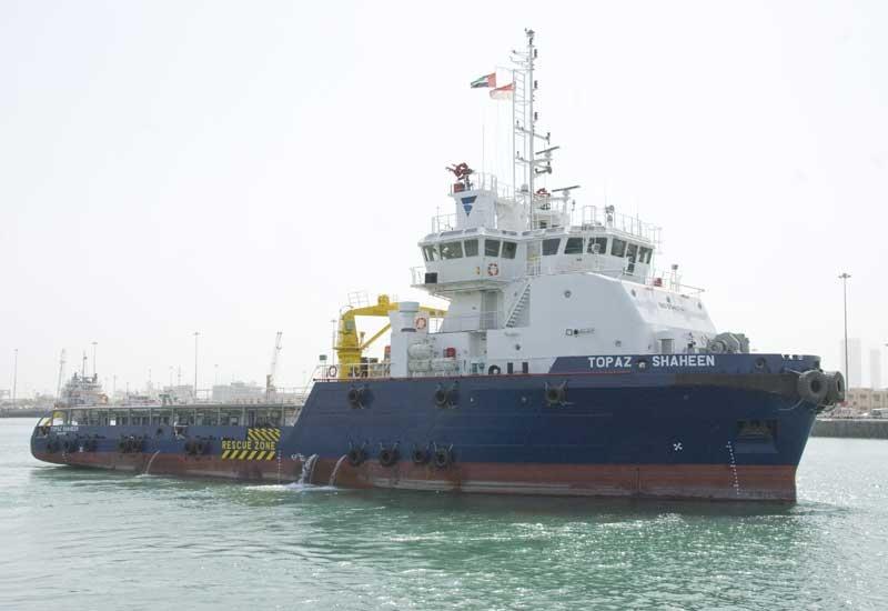 The Topaz Shaheen will serve as a back up service vessel in Qatar's Al Shaheen field.