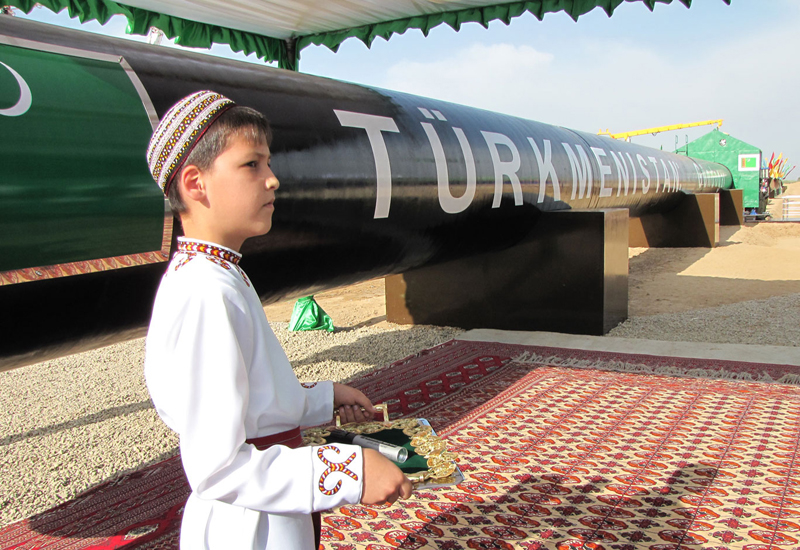 Turkmenistan has enough gas to supply major world markets, but currently lacks the infrastructure to export it. STR/AFP/Getty Images