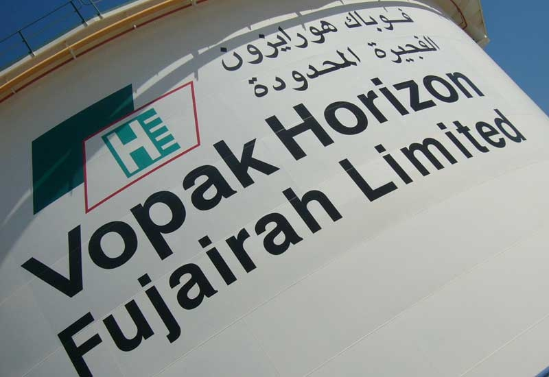 Vopak Horizon Fujairah is a joint venture between ENOC and Royal Vopak and and Kuwait's Independent Petroleum Group.