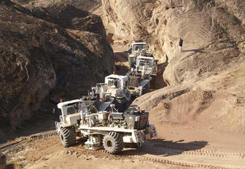 Seismic survey being undertaken by Gulf Keystone Petroleum in Kurdistan.
