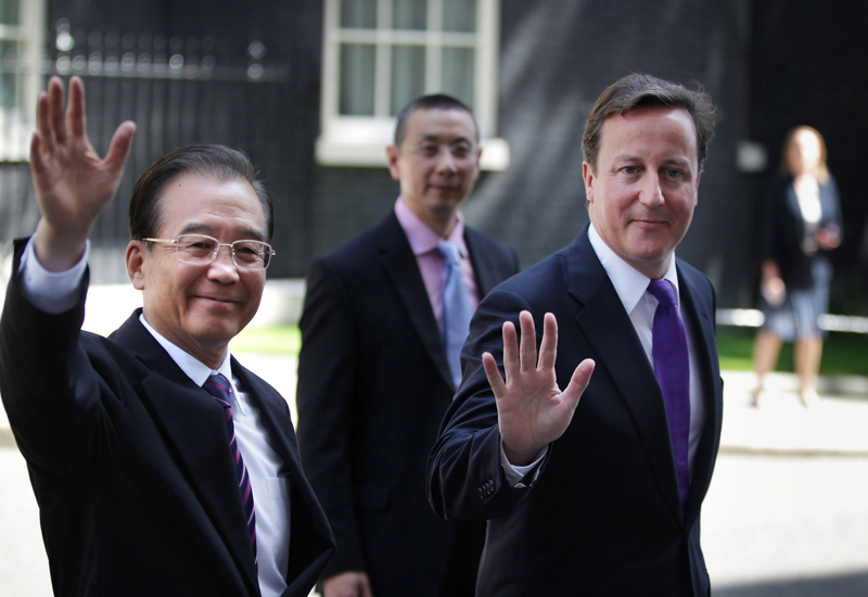 The deal was announced with a slew of other deals as part of Chinese Premier Wen Jiabao's state visit to Britain. GETTY IMAGES