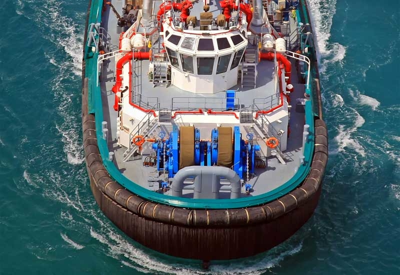 Bourbon Yack is the first in a series of 4 ASD terminal escort tugs, designed for berthing oil and LNG tankers.