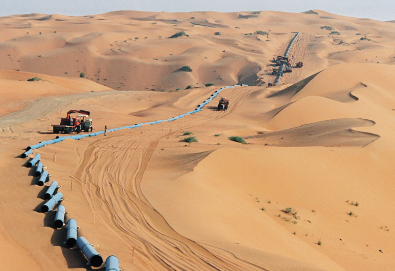Saudi Aramco is planning a new gas plant