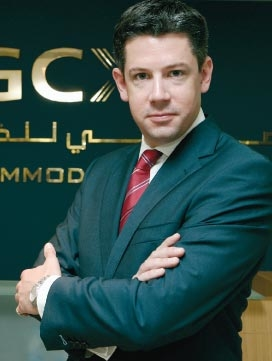 Malcolm Wall Morris, chief executive, Dubai Gold and Commodities Exchange.