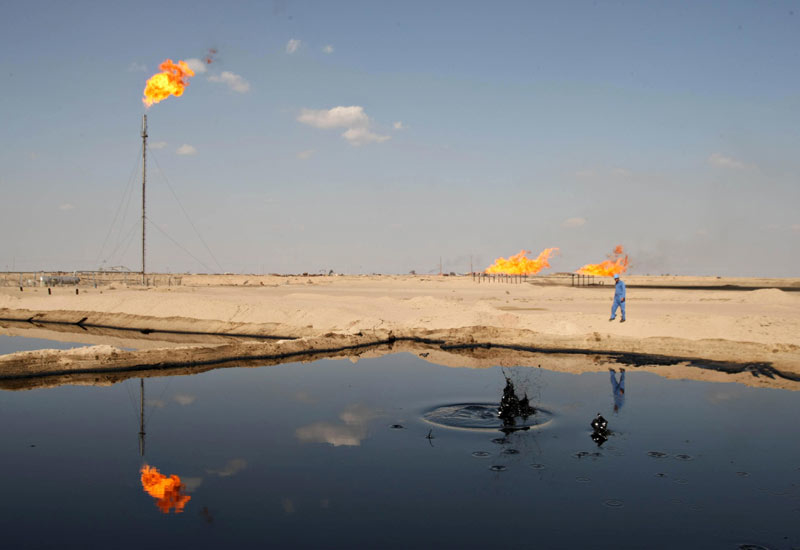 Heritage Oil recently announced a large oil discovery in Iraq.