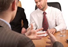 Job interviews can be tough with non-existent companies