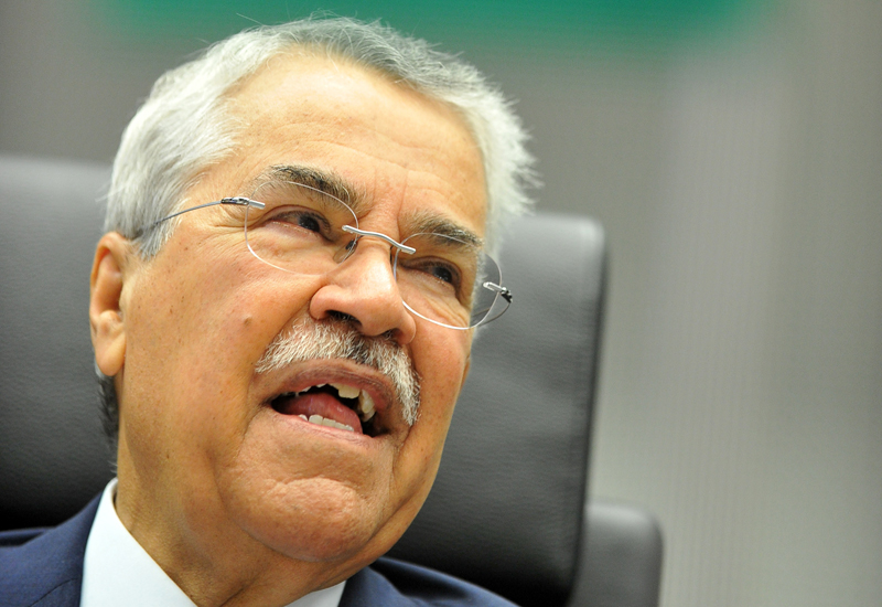 Ali bin Ibrahim Al-Naimi. Saudi has contributed most to over-quota production. GETTY IMAGES