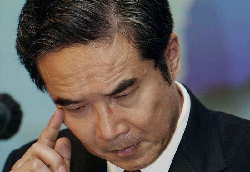 Sentenced to death: former Sinopec chairman Chen Tonghai. (TED ALJIBE/AFP/Getty Images)