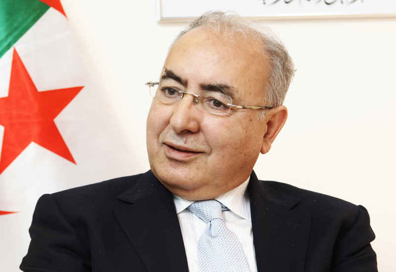 Sonatrach CEO, Mohamed Meziane.