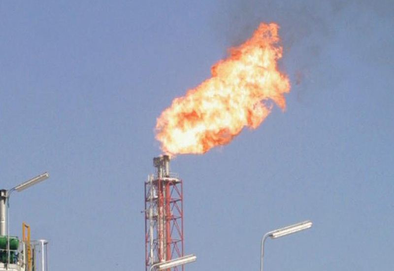 The GE report finds that low natural gas prices in the Middle East and higher costs related to capturing flare gas inadvertently encourage the wastefu