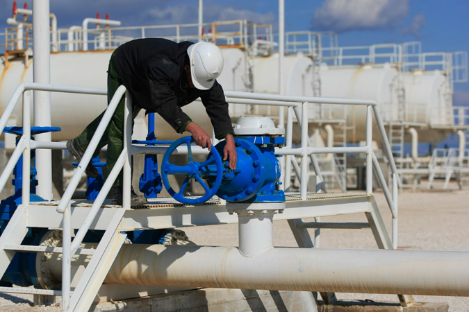 Suncor has shut the taps as sanctions and security problems render work impossible. GETTY IMAGES