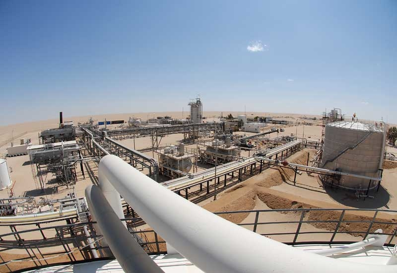 Libya's oil production is thought to be down at least 1.2 million barrels per day. (Image courtesy of Wintershall)