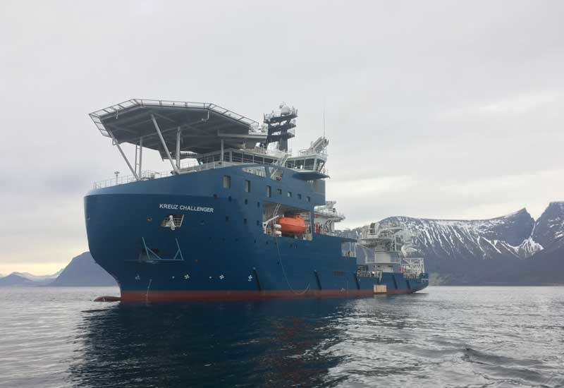 The DSV Kreuz Challenger has been purpose built by the Vard shipyard in Norway.