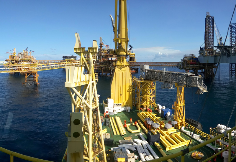Telford Offshore's vessel will be operating in shallow water with a maximum depth of 70 metres.
