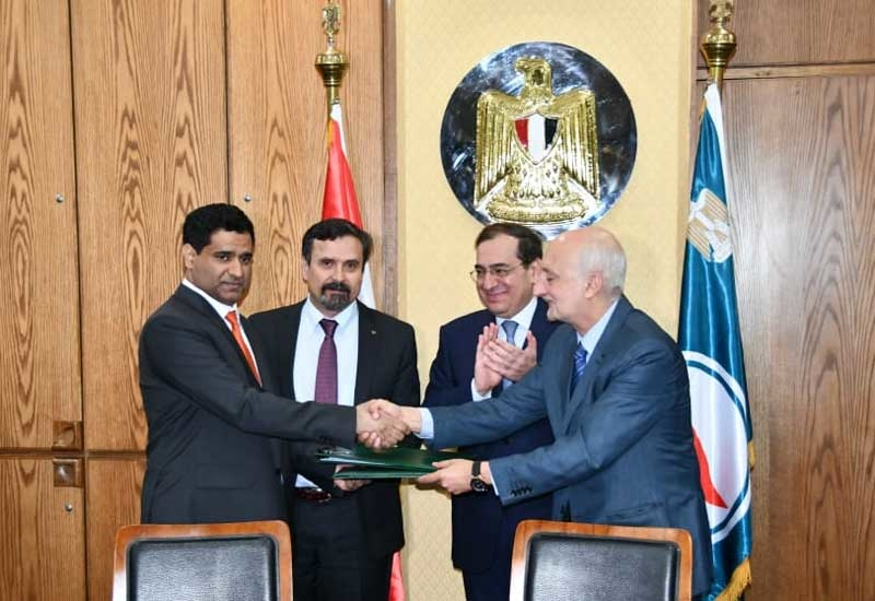 Dr Bakheet Al Katheeri, CEO, Mubadala Petroleum, signed a deed with Eni completing the sale to Mubadala Petroleum in the presence of the Egyptian minister of petroleum, Tarek El-Molla, in Cairo.