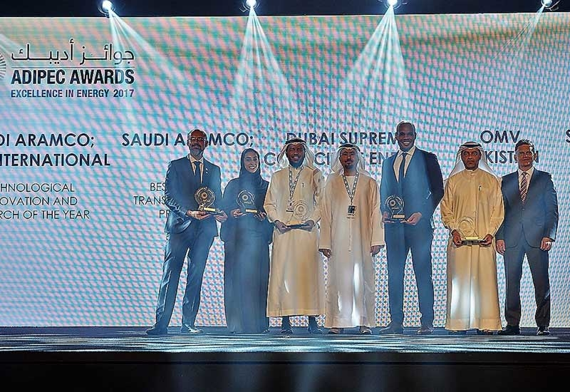 ADIPEC Awards celebrate excellence in the petroleum industry.