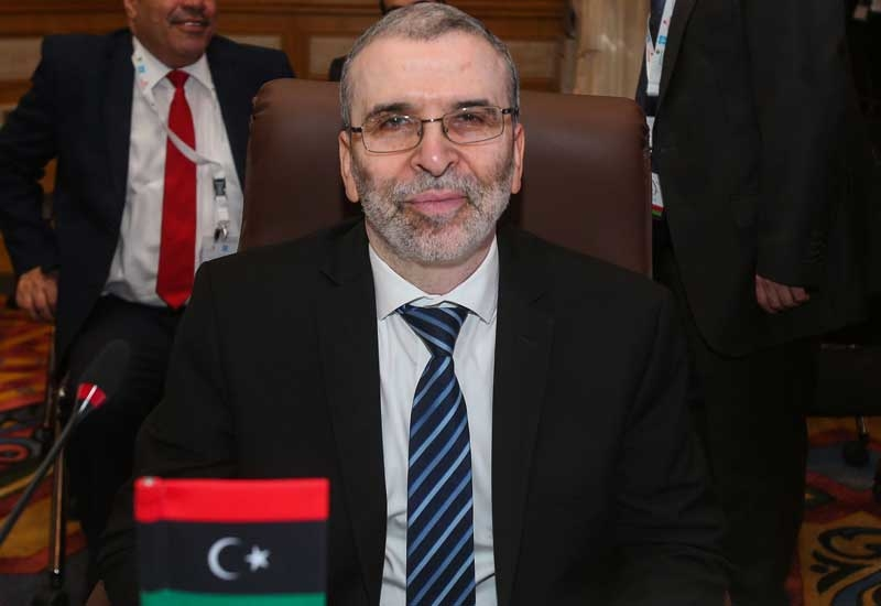 Mustafa Sanalla, chairman of the Libyan NOC.