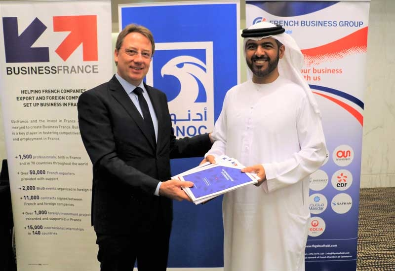The third UAE France Oil and Gas Connecting Days was launched under the patronage of Ludovic Pouille (left), Ambassador of France to the United Arab Emirates.