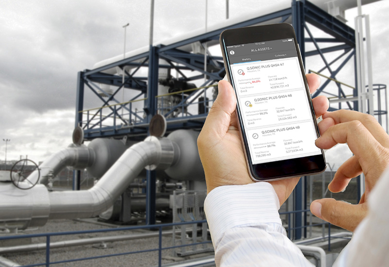 The Honeywell Connected Plant Measurement IQ for Gas solution.