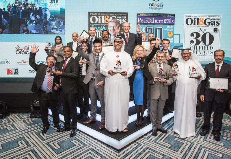 Oil & Gas Middle East and Refining & Petrochemicals Middle East 2017 Award winners.