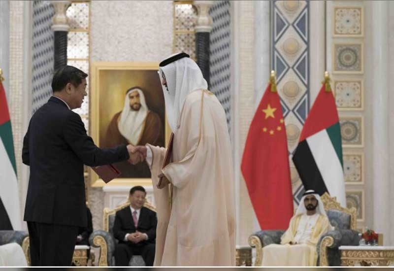 The strategic cooperation framework agreement between ADNOC and CNPC extends and deepens energy partnership between the UAE and China. (Image courtesy: WAM)