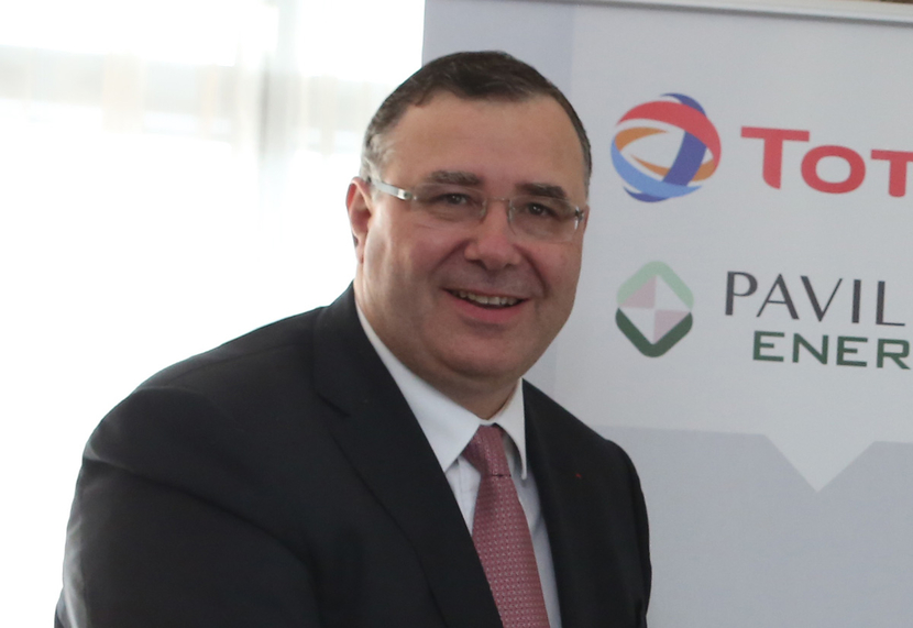 Patrick Pouyanné, chairman and CEO, Total.