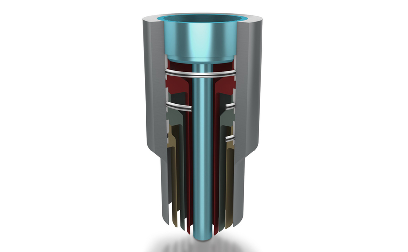 Trelleborg's new metal end cap seal.