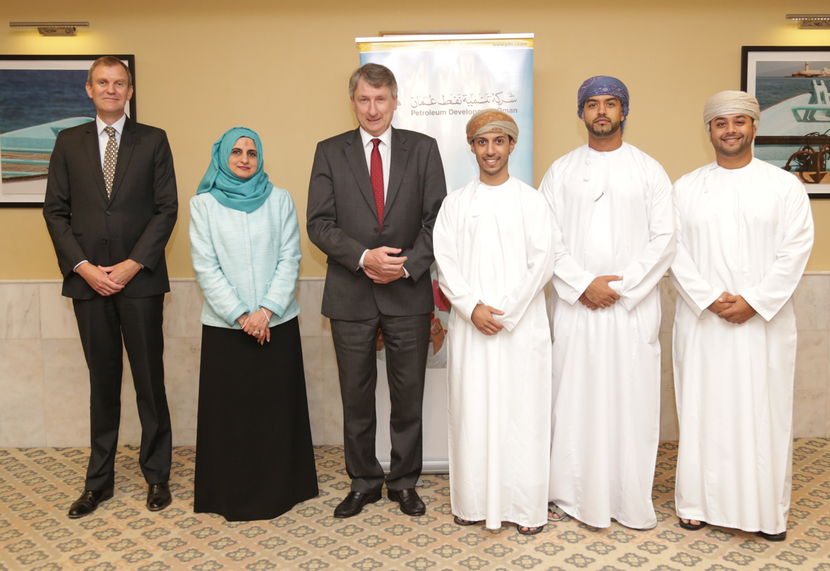 PDO managing director Raoul Restucci at an earlier signing ceremony to support local Omani businesses.