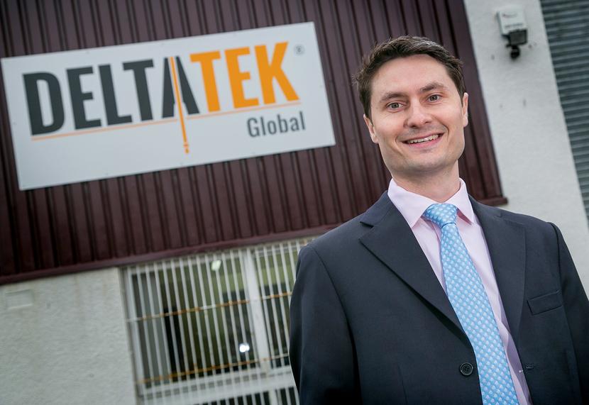 Tristam Horn, DeltaTek founder and CEO.