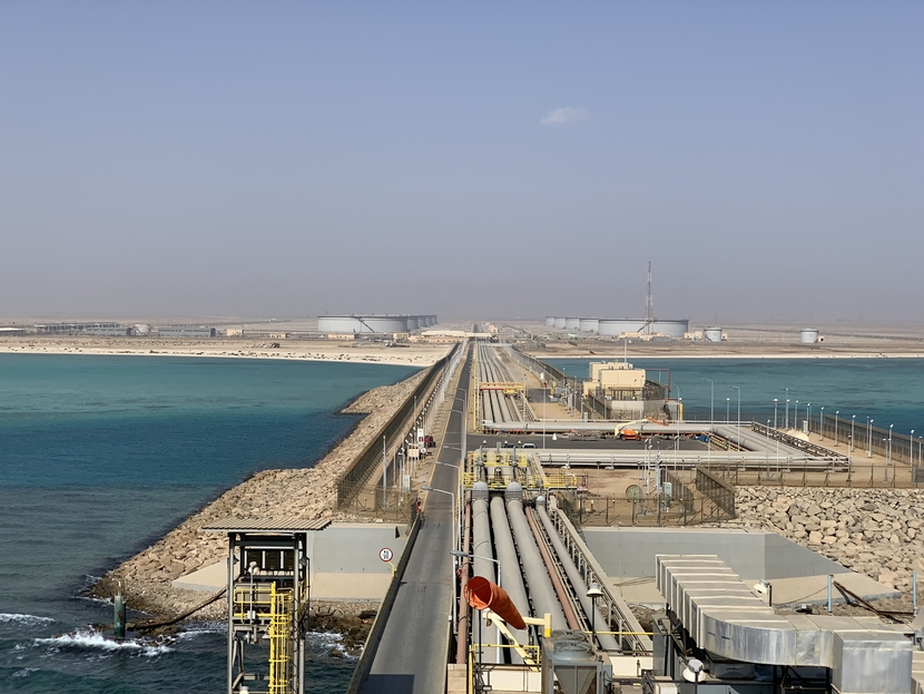 Yanbu South Terminal, which is located south of Yanbu City on the West Coast of Saudi Arabia, consists of a tank farm and offshore facilities to receive, store and load Arab Light (AL) and Arab Super Light (ASL) crude oil.