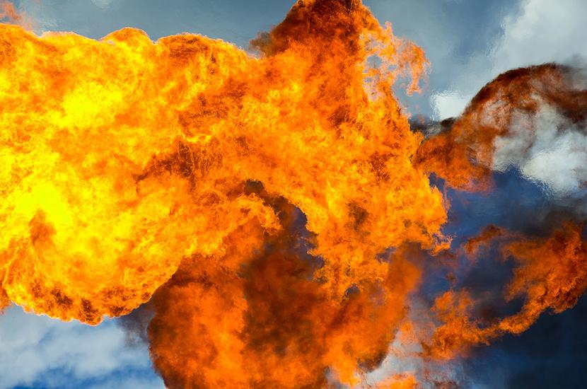 Gas flaring, World bank, Flare